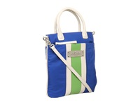 My Flat In London Bristol Convertible Royal Blue Multi Cross Body Handbags