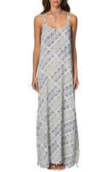 O'neill Women's Tessie Print Maxi Dress
