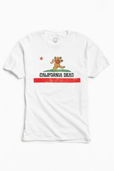 Urban Outfitters Grateful Dead California Tee White
