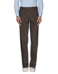 Boss Black Trousers Casual Trousers Men Dark Brown