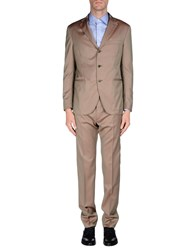 Cantarelli Suits And Jackets Suits Men Khaki