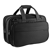 Briggs And Riley Baseline Double Expandable Tote Black