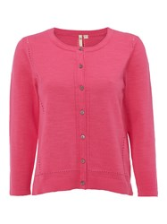 White Stuff Easel Cardi Hot Pink