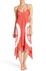 Elan Women's Cover Up Dress Red Sandbar
