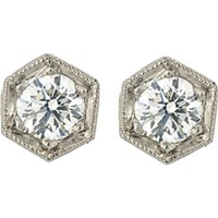 Cathy Waterman Women's Hexagonal Studs No Color