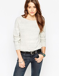 Levi's Crewneck Jumper In Morning Fog Heather Morningfogheath
