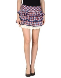 Atelier Fixdesign Mini Skirts Red