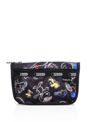 Le Sport Sac Peanuts Travel Cosmetic Pouch Chalkboard