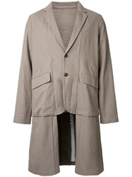 Ones Stroke Oversized Coat Brown