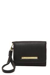 Steve Madden French Wallet Black