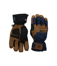 Dakine Excursion Glove Midnight Extreme Cold Weather Gloves Navy