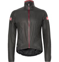 Castelli Idro Gore Tex Cycling Jacket Black