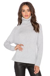 Michael Stars Long Sleeve Turtleneck Sweater Gray