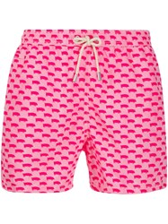 Mc2 Saint Barth Drawstring Swim Shorts Pink