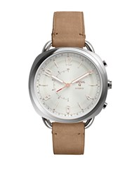 Fossil Hybrid Smartwatch Q Accomplice Sand Leather