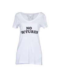 Worn Free Short Sleeve T Shirts White
