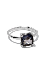 Wouters And Hendrix Gold 18Kt White Gold Topaz Ring