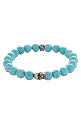 Degs And Sal Men's Stone Bead Stretch Bracelet