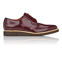 Common Projects Men's Wedge Sole Derbys Burgundy