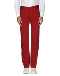 Betwoin Trousers Casual Trousers Men Red