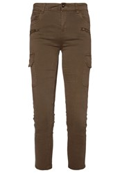 Ovs Trousers Camouflage Green Khaki
