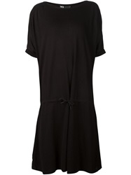 Y 3 Loose Fit T Shirt Dress Black