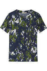 Jason Wu Printed Cotton Jersey T Shirt