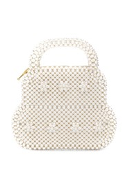 Shrimps Small Augusta Tote Bag Neutrals