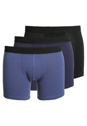 Sloggi 3 Pack Shorts Multiple Colours Dark Blue