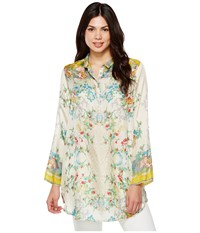 Johnny Was Vintage Floral Tunic Multi Women's Blouse