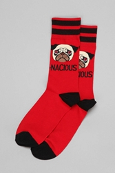 Urban Outfitters Pugnacious Sock Red