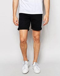 Only And Sons Black Denim Shorts Black