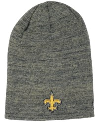 New Era New Orleans Saints Slouch It Knit Hat Gray