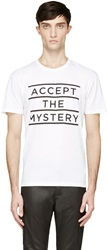 Surface To Air White Accept The Mystery T Shirt