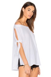 Nation Ltd. Ava Off The Shoulder Top White