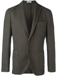 Boglioli Two Button Blazer Black