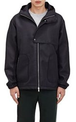 Tim Coppens Neoprene Hooded Anorak Black