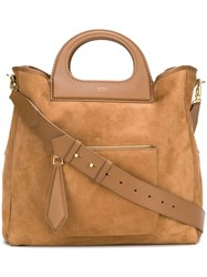 Max Mara Large Tote Brown