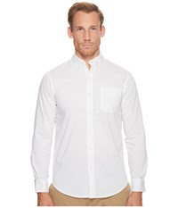 Dockers Long Sleeve Stretch Woven Shirt Paper White Men's Clothing