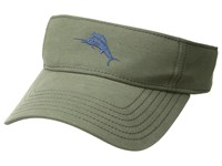 Tommy Bahama Cotton Blend Visor Olive Caps