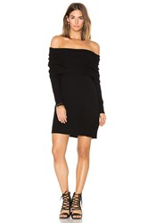 White Warren 3 Way Sweater Dress Black