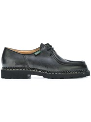 Paraboot Chunky Lace Up Shoes Black