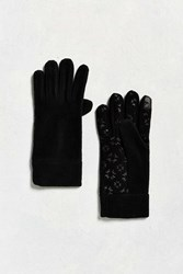 Urban Outfitters Microfleece Glove Black