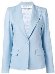 Filles A Papa Tailored Fit Blazer Blue