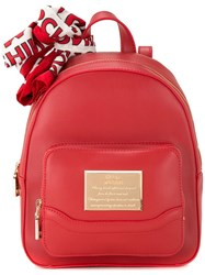Love Moschino Zipped Backpack Red
