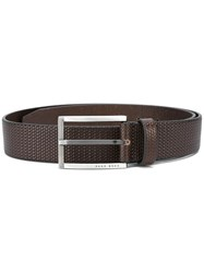 Hugo Boss 'Clif' Belt Brown