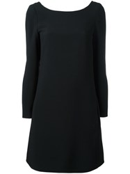 Chloe Scoop Back Dress Black