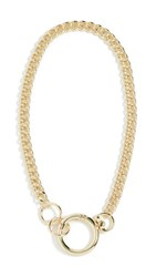 Jules Smith Designs Keychain Necklace Gold