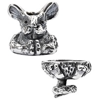 Trollbeads Sterling Silver Fantasy Mouse Pendant