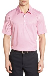 Men's Cutter And Buck 'Expansive Print' Short Sleeve Drytec Golf Polo Refresh